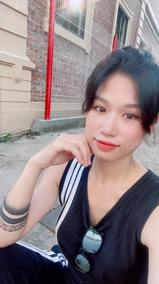 Ngoại hình xinh đẹp của hot mom Hà Thành Hà Bi Fitness