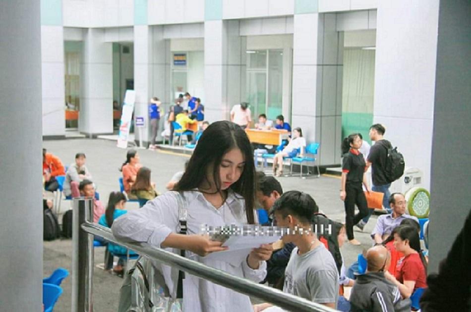 Nguyễn Thị Tuyết Nhung- Cô Nữ sinh viên 9X IUH.