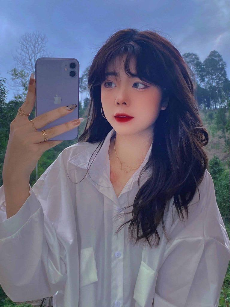 Kim Oanh - Cô nàng sở hữu gương mặt đẹp không góc chết