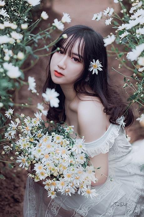 Hot girl Kim Thảo - Cô nàng xinh đẹp như những đóa hoa